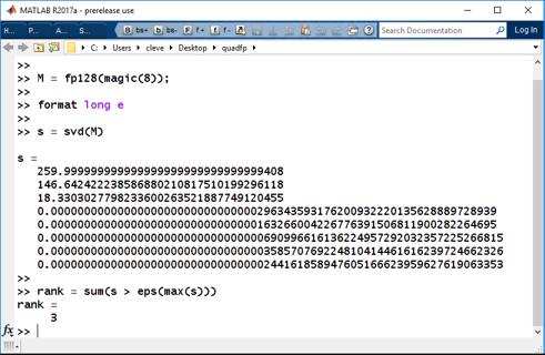 Quadruple Precision, 128-bit Floating Point Arithmetic