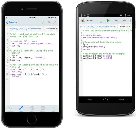 matlab_mobile_view_files