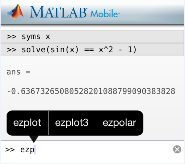Suggestions for MATLAB Functions