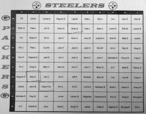 Football squares super bowl play online picture