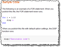 Syntax Highlighted Sample Code