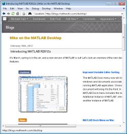 Modern web rendering on windows R2012a