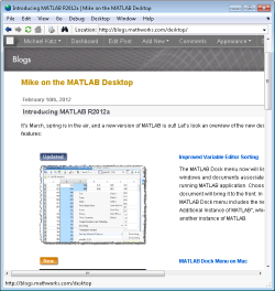 Modern web rendering on windows R2012a