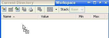Dropping file onto Workpsace