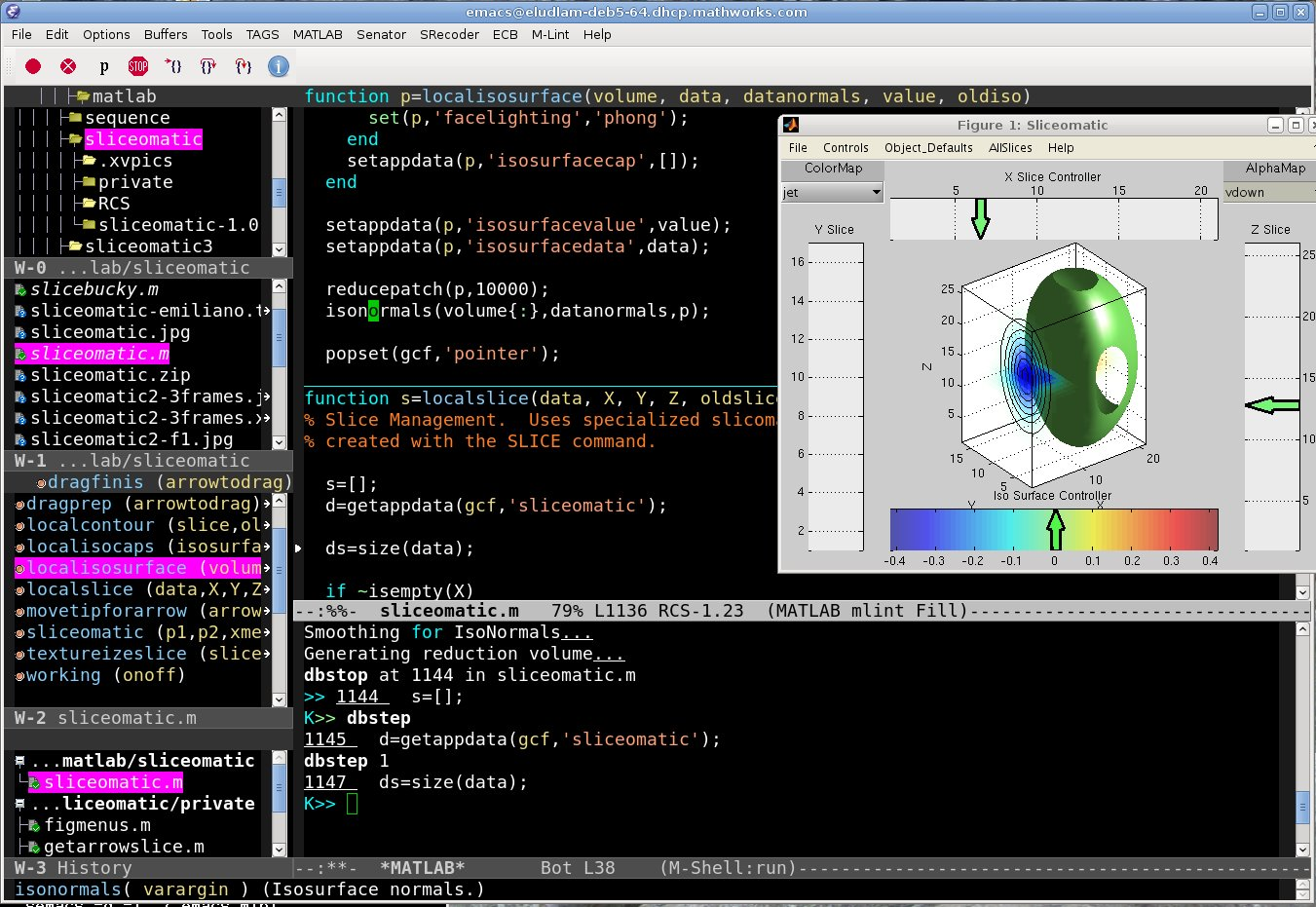 MATLAB-Emacs integration is back » MATLAB Community - MATLAB & Simulink
