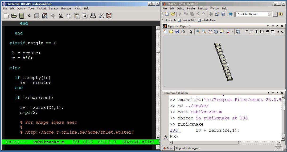 MATLAB-Emacs integration is back � MATLAB Spoken Here