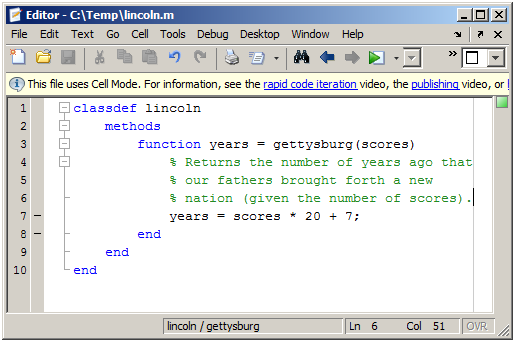 How to initialize an array in matlab