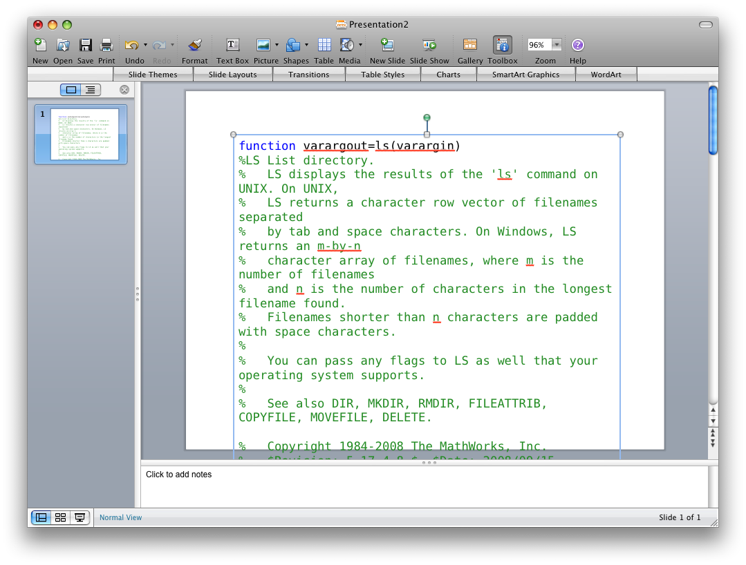 Bring Along Your Syntax Highlighted Code 4