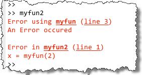 New Error formatting