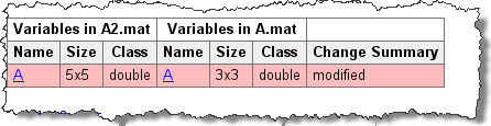 MAT-file comparisons in R2010b