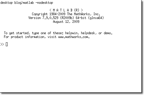 Linux nodesktop