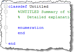 Enumeration Template