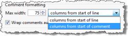 Code Folding Preferences