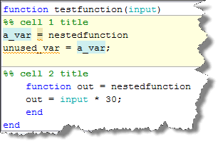Variable Highlighting in the Editor