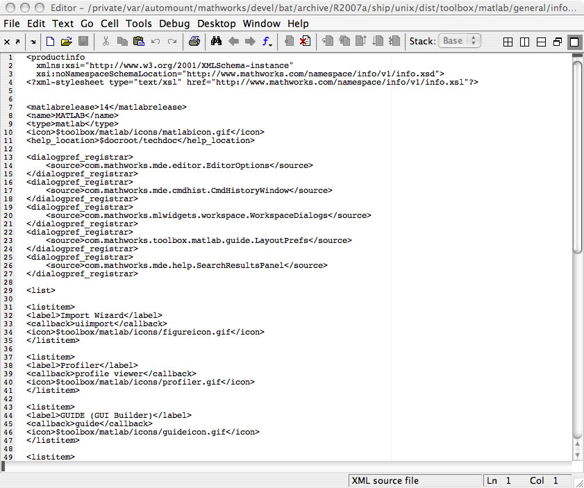 Editor syntax colors for non-M file types » MATLAB Community ...