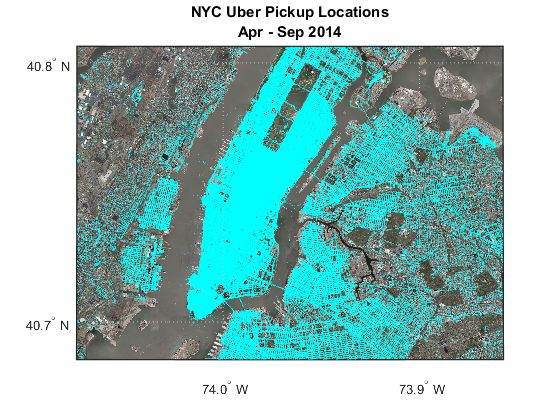 Mapping Uber Pickups in New York City » Loren on the Art of