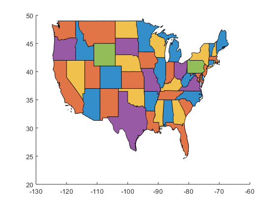 Create Color Coded Us Map.Color Your World More With Maps Graphs And Polygons Loren On