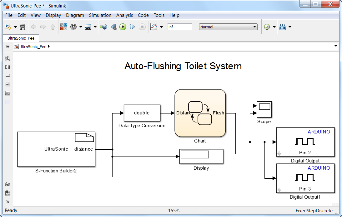 Flush Your Toilet With Simulink 187 File Exchange Pick Of