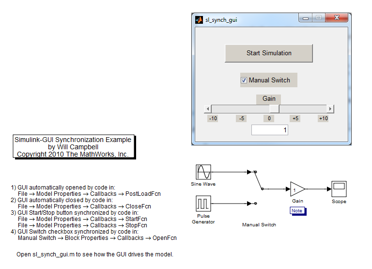 use matlab guis with simulink models file exchange pick of the rh blogs mathworks com