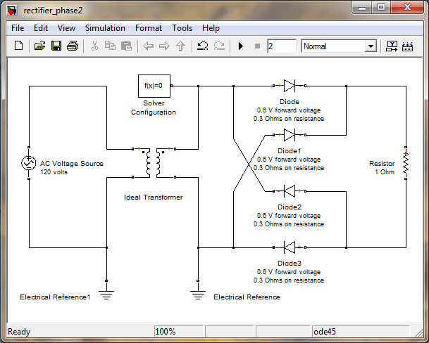 rectifier model