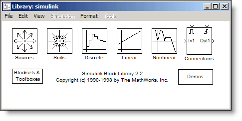 The Simulink 2 Library