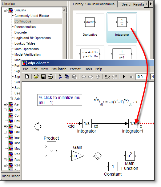 how to create a simulink block from a matlab code