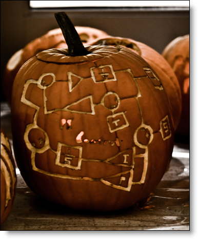 Simulink pumpkin carving by Olin College Student