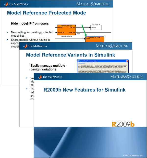 R2009b Simulink Feature Slides