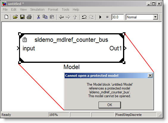Model Reference Protected Mode