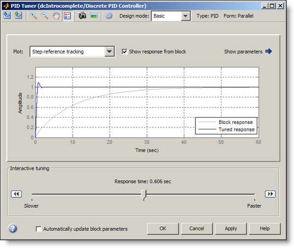 PID Tuner Interface
