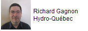 Richard Gagnon from Hydro Quebec