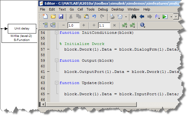 Level 2 MATLAB File S-Function