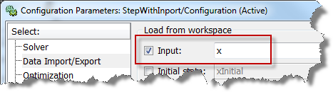 Load From Workspace