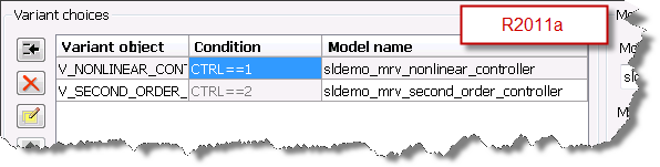 Improved R2011a Model Reference Parameter dialog box