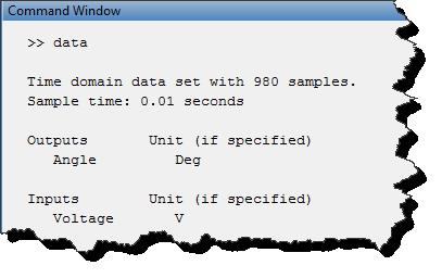 iddata object