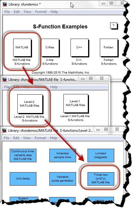 S-Functions demos