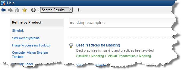 Masking Examples