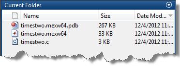 PDB file continaing debug symbols