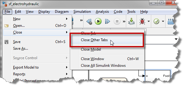 Closing All Other Tabs