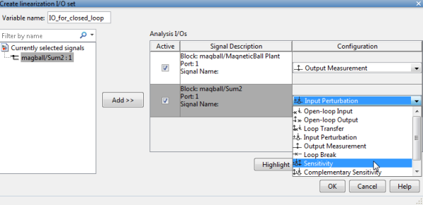 Creating new linearization I/Os