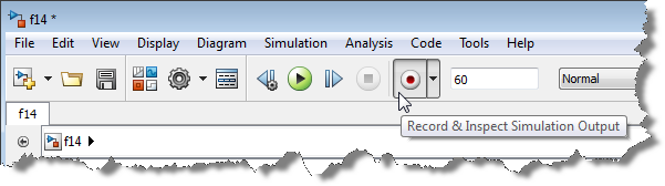 Record & Inspect Simulation Output