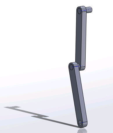SolidWorks Pendulum Assembly