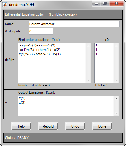 Differential Equation Editor