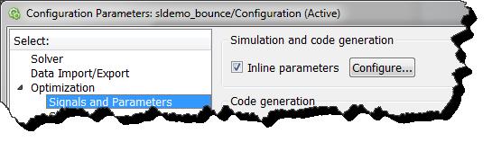 Inline Parameters