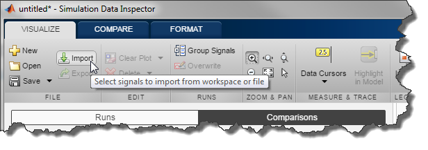 Importing data in SDI