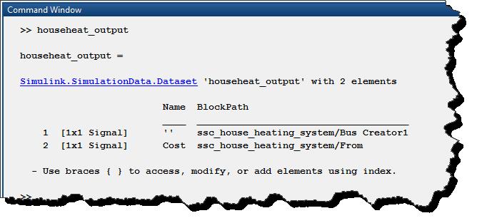 Logged dataset