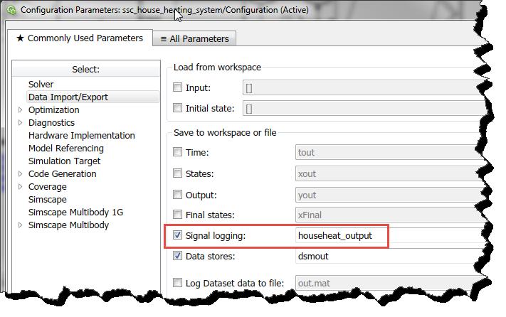 Enable Logging in dataset format
