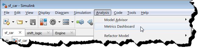 Launching the Metrics Dashboard