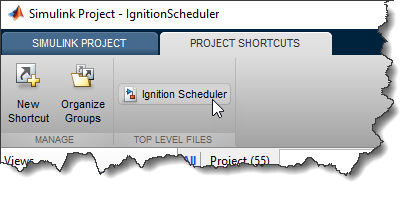 Simulink Project Shortcut