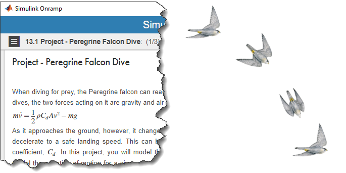 MATLAB Onramp Falcon problem